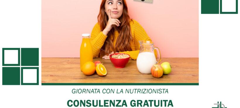 Consulenza gratuita con Nutrizionista