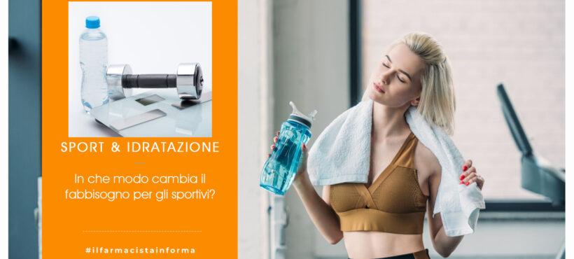 Idratazione e sport