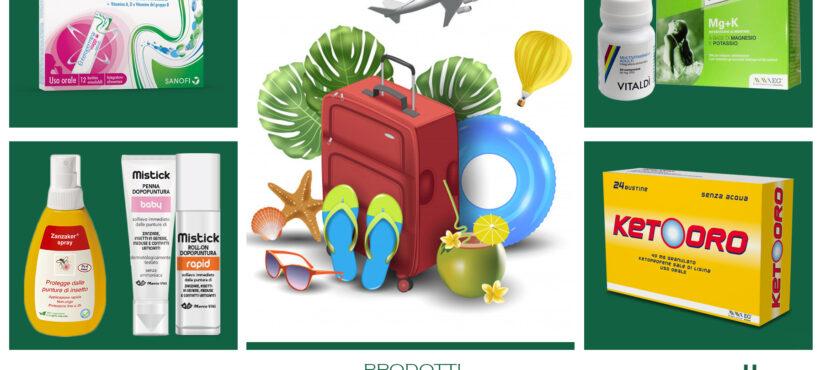 Prodotti in valigia